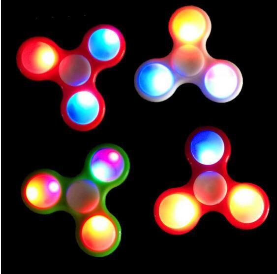 Fidget Spinner med LED Lys