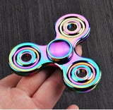 Fidget Spinner Metal Rainbow