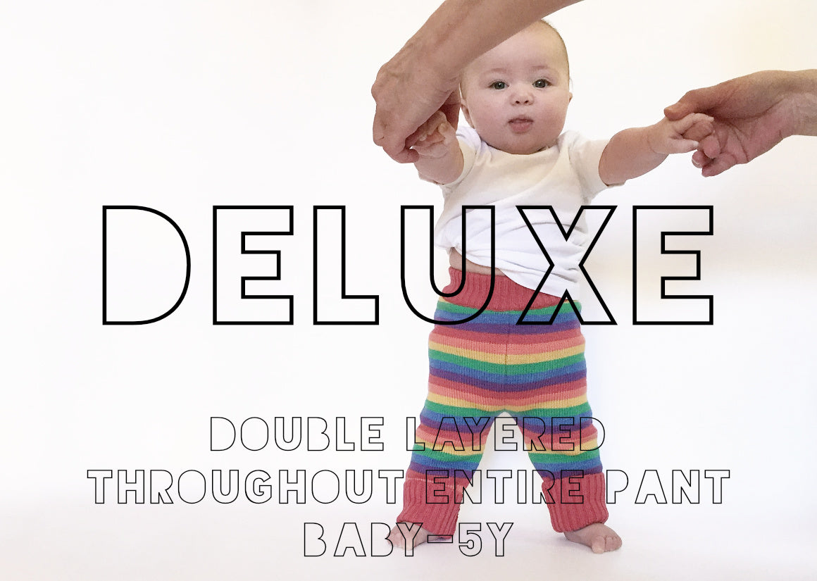 DELUXE DOUBLE LAYERED WOOL PANTS BABY