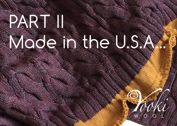 Made in the USA. Part II of Yooki's Journey.