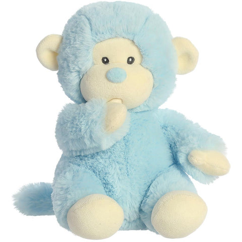 Baby Plush - Monkey, Blue