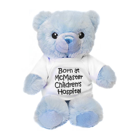 Baby Plush - Born at McMaster Teddy, Blue