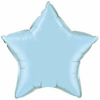 Star Balloon - Light Blue - Giving Blooms