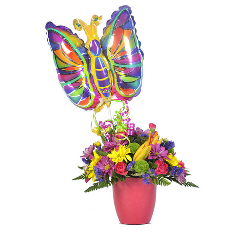 Beautiful Butterfly Bouquet - Giving Blooms