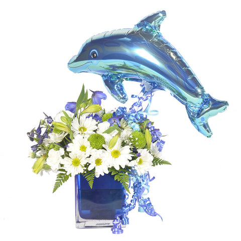Dancing Dolphin Bouquet - Giving Blooms