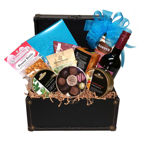 Gourmet Gift Basket - Giving Blooms