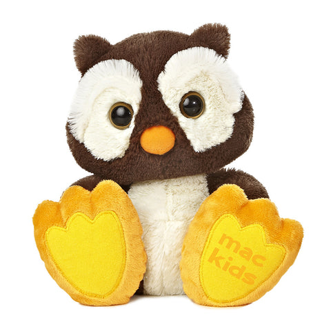 MacKids Plush 2017 - Hoots the Owl - Giving Blooms