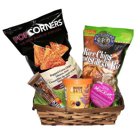 Sweet and Savoury Gift Basket - Giving Blooms
