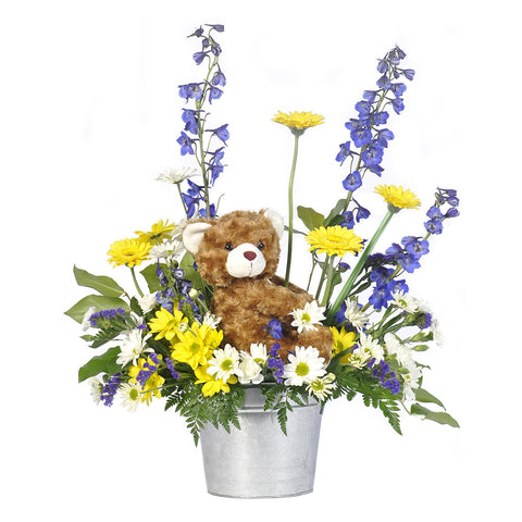 Teddy's Garden Bouquet - Giving Blooms