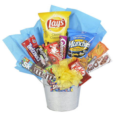 Gift Basket - Triple Treat - Giving Blooms