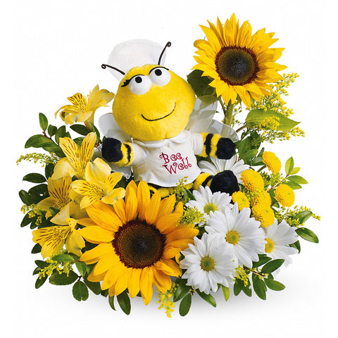 Bee Well Bouquet - Giving Blooms