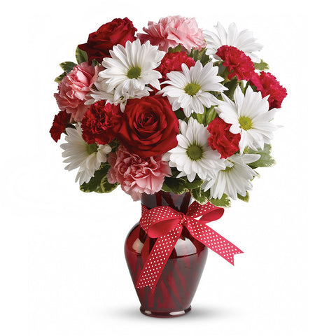 Hugs and Kisses Bouquet - Giving Blooms