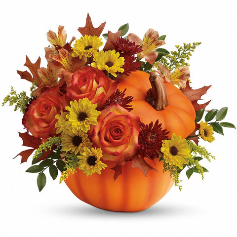 Warm Fall Wishes Bouquet - Giving Blooms