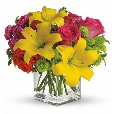 Sunsplash Bouquet - Giving Blooms