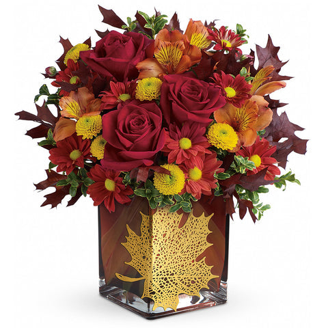 Maple Leaf Bouquet - Giving Blooms