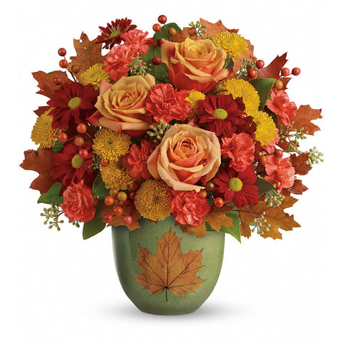 Heart of Fall Bouquet - Giving Blooms