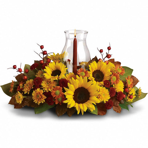 Sunflower Centerpiece - Giving Blooms