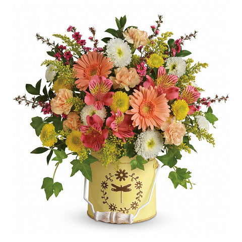 Country Spring Bouquet - Giving Blooms