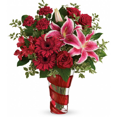 Swirling Desire Bouquet - Giving Blooms
