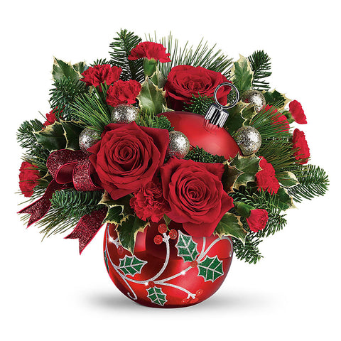 Deck the Holly Bouquet