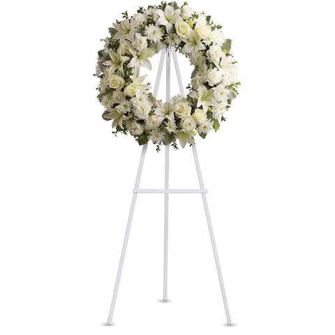 Serenity Wreath - Giving Blooms