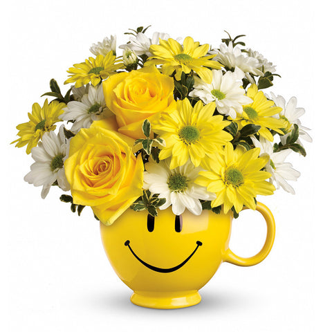 Be Happy Bouquet - Giving Blooms