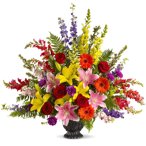 Walk in Rainbows Bouquet - Giving Blooms