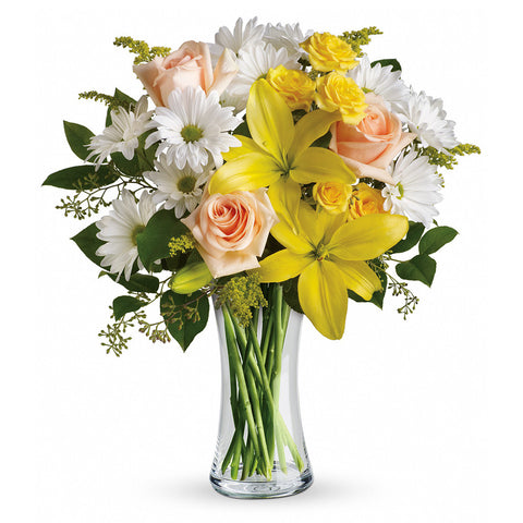 Daisies and Sunbeams Bouquet - Giving Blooms