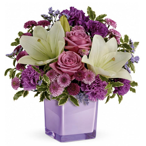 Pleasing Purple Bouquet - Giving Blooms