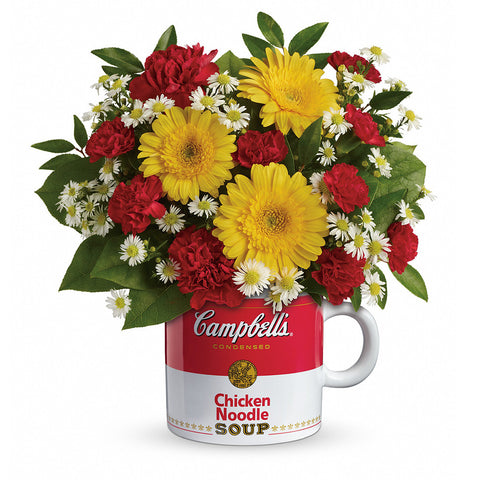 Campbell's Healthy Wishes Bouquet - Giving Blooms