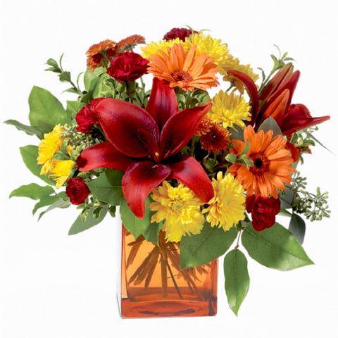 Autumn Awe Bouquet - Giving Blooms
