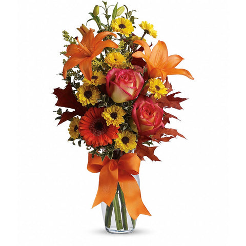 Burst of Autumn Bouquet - Giving Blooms