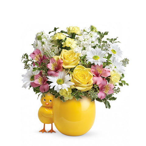 Sweet Peep Bouquet - Pink - Giving Blooms