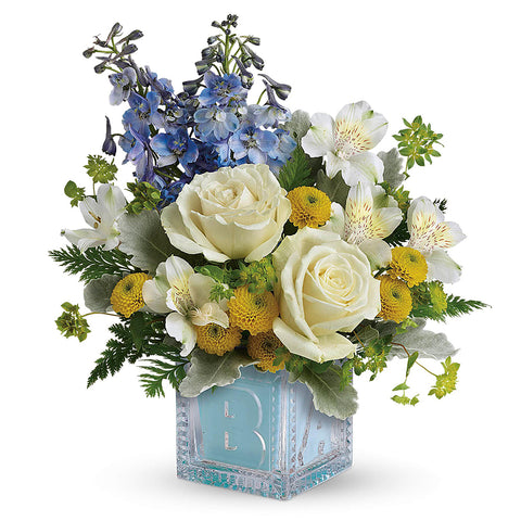 Bundle of Joy Bouquet - Blue