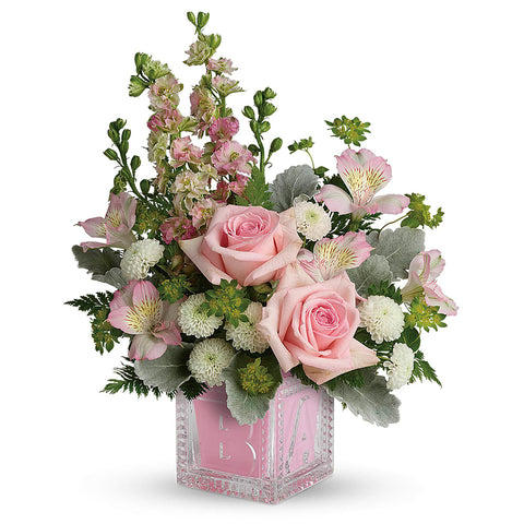 Bundle of Joy Bouquet - Pink