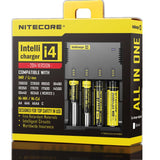 Nitecore Intellicharge i4 Battery Charger Select Vapes