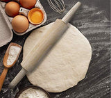 Activave Wooden Rolling Pin (36 cm)
