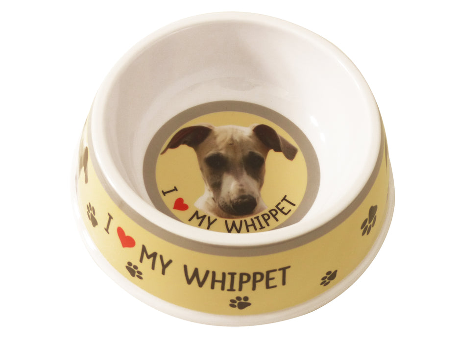 Pet Dog Feeding Bowl - Whippet