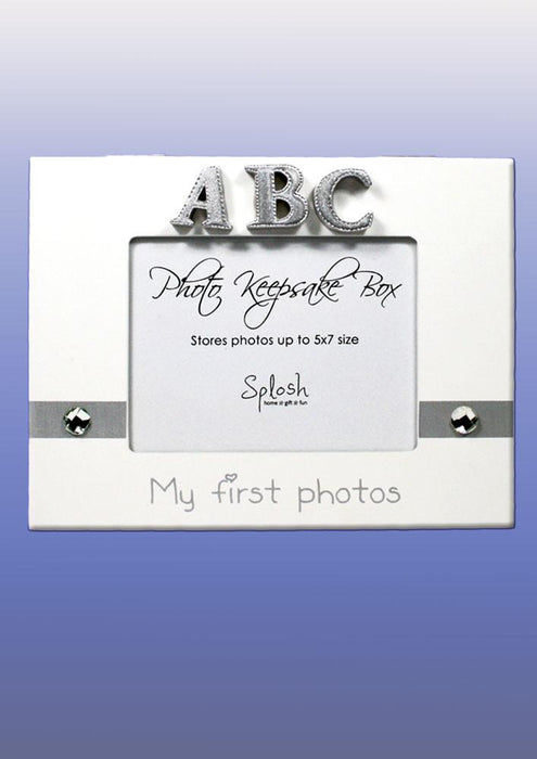 Splosh Mini Photo Keepsake Box White