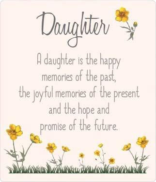 Buttercup Plaque - Daughter