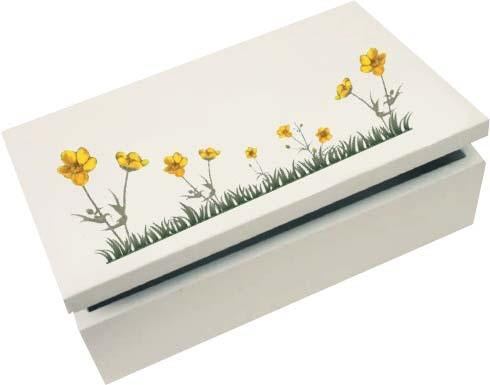 Buttercup Large Trinket Box