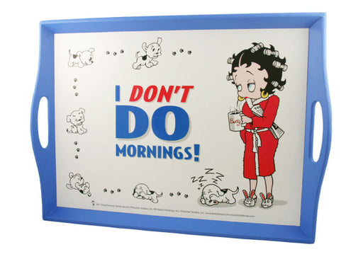 BP2046 Betty Boop Don't Do Mornings Lap Tray