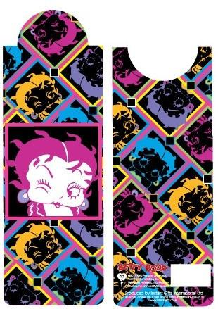 BP2076 Betty Boop Neon Bookmark