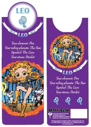BP2090 Betty Boop Leo Bookmark