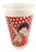 Betty Boop Half Pint Glass Polka Dots