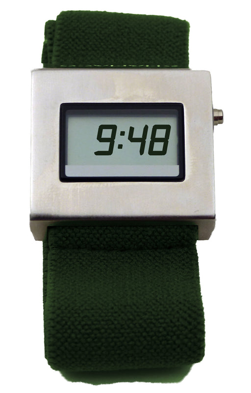 Chamaco Mens Digital Designer Wedge Watch