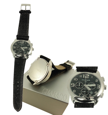 Mens Watch and Chronometer - Stainless Steel