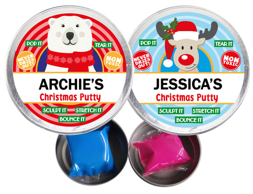 Christmas Putty - Choose Any Name - 2 Designs