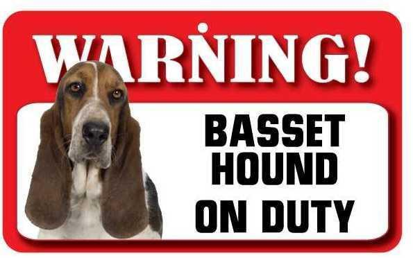 DS004 Basset Hound Pet Sign