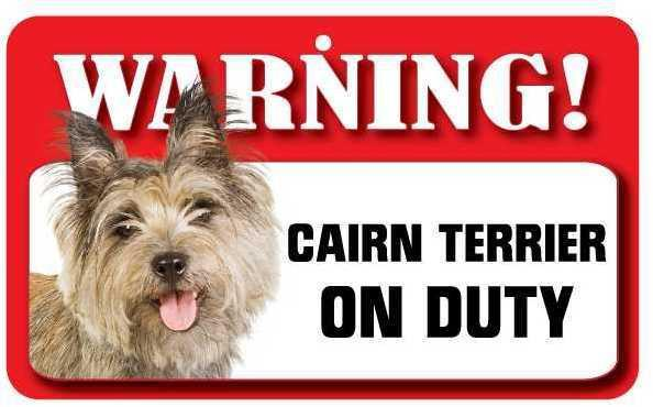 DS015 Cairn Terrier Pet Sign
